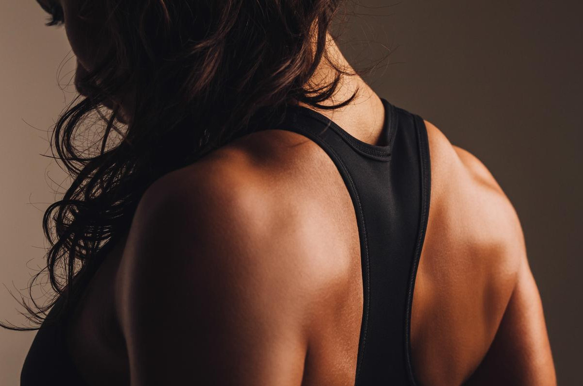 toning breast muscles