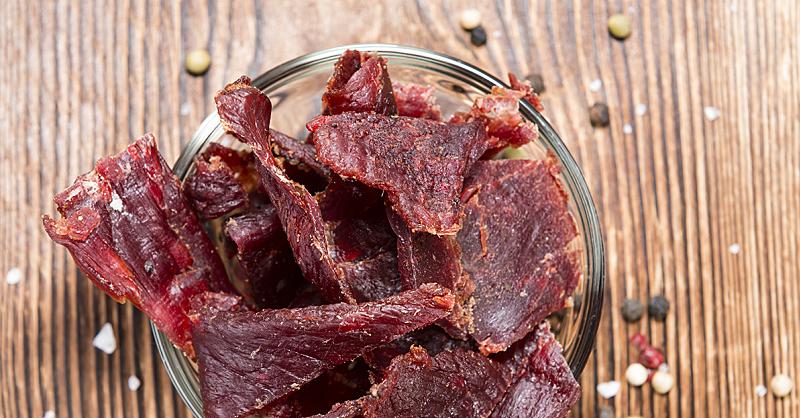 Вяленые кусочки мяса