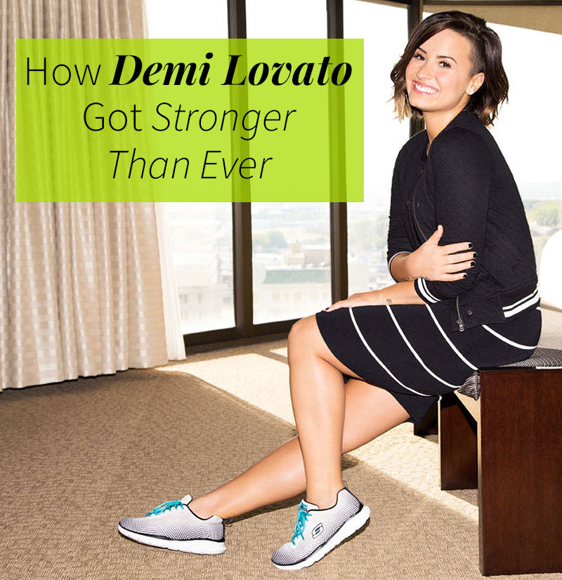 How Demi Lovato Got Healthy - Fighting Bulimia and Bipolar Disorder | Fitness Magazine