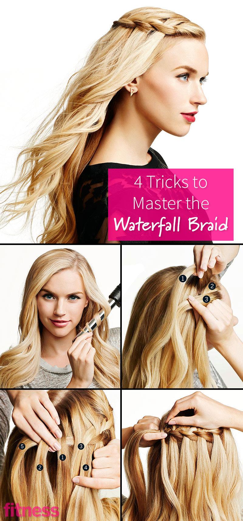 Waterfall Braid Tutorial How To Make A Waterfall Braid