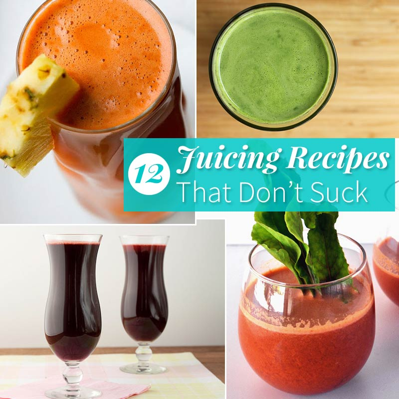 Healthy Slow Juicer Recipes : 12 Healthy Juicing Recipes Fitness Magazine
