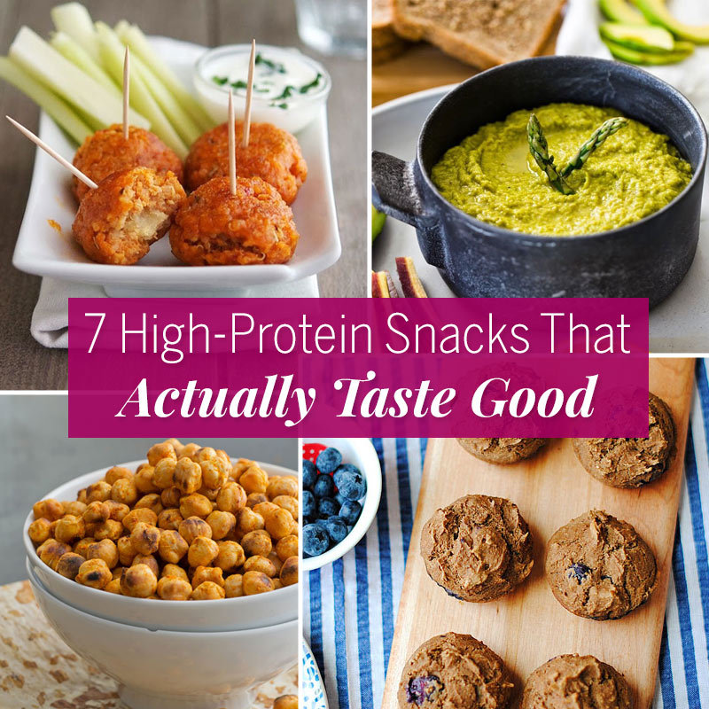 Recipes High Protein Snacks Fitness Magazine