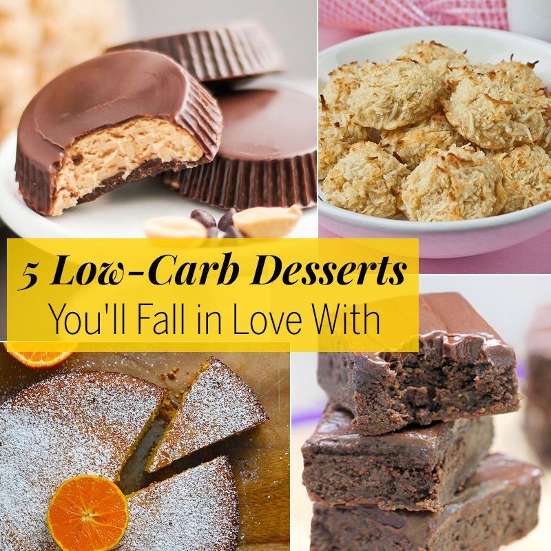 Easy And Delicious Low-Carb Desserts
