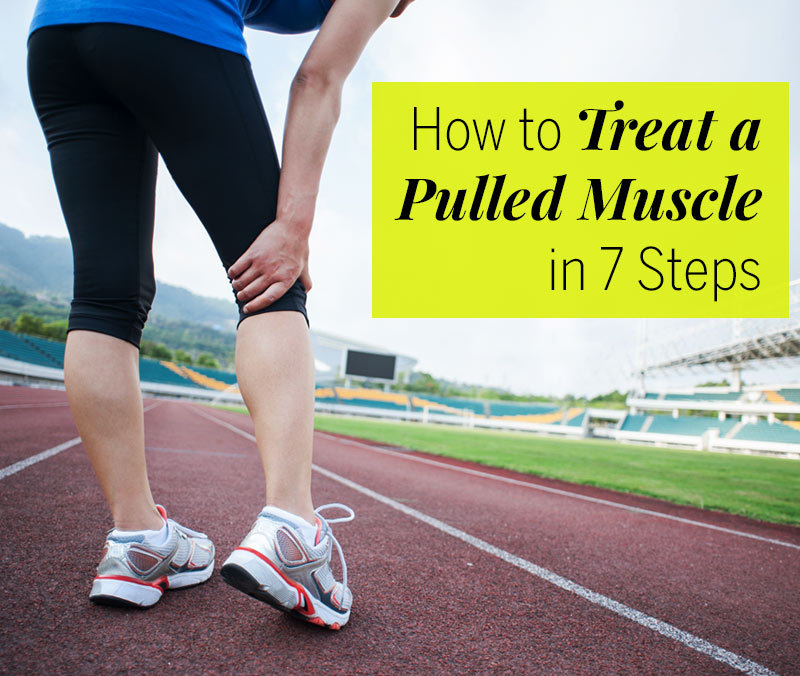 how to fix a pulled muscle in your leg