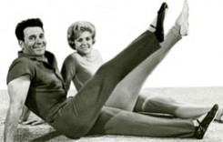 LaLanne with his fit wife, Elaine. (Photo courtesy of JackLaLanne.com)