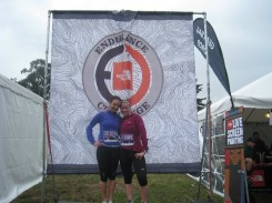 My best friend Emily & I after finishing The North Face Endurance Challenge!