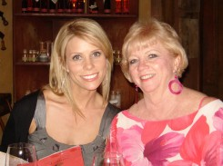 Actress Cheryl Hines with her mom, Rosemary Harbolt. Photo courtesy of Cheryl Hines.