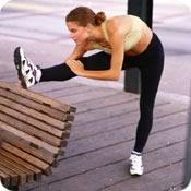 running stretch