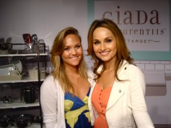 Lauren with Giada De Laurentiis