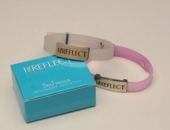 Wear this bracelet to practice sun safety. (Photo courtesy of SpaFinder)