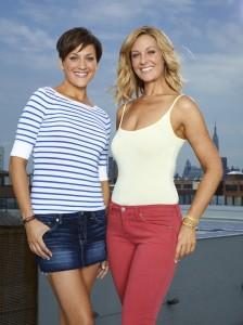 FITNESS September 2011 cover models, Olivia & Hannah