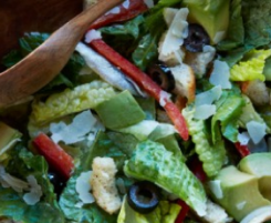 Enjoy a taste of spain in this superfood salad! Photo courtesy of DOLE.