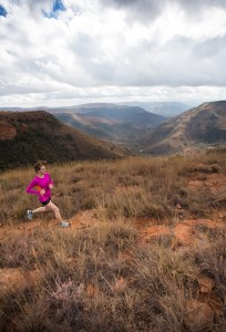 Paige Claassen goes on a run through Africa