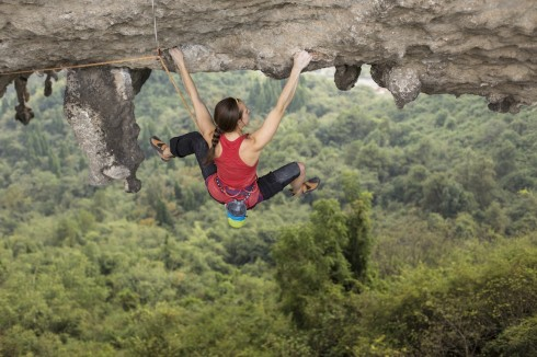 Paige completes Sea of Tranquility (5.14a)