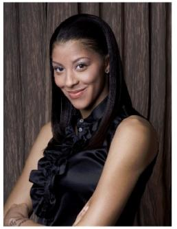 Candace Parker, Photo by Gary B. Garman, courtesy of Playtex Sport