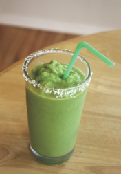 Tastes like a cocktail, but packs the nutrition of a smoothie! (Photo courtesy of Harlequin)