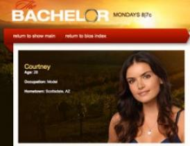 model courtney on the bachelor