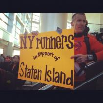 New York Runners in Support of Staten Island