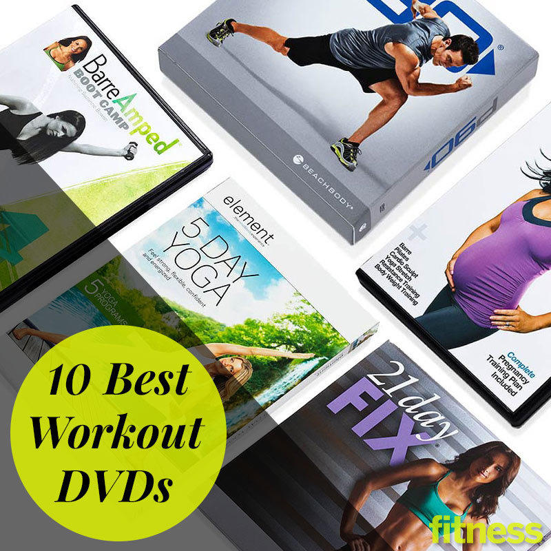 Fitness Music Dvd: 10 Best Workout DVDs - At-Home Workouts