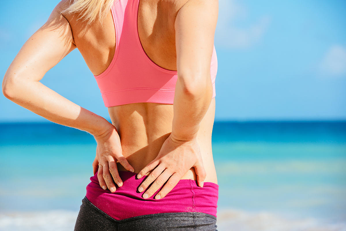 4 Easy Ways To Ease Lower Back Pain Fitness Magazine