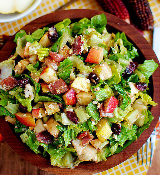 thanksgiving salad recipes that win the holiday fitness