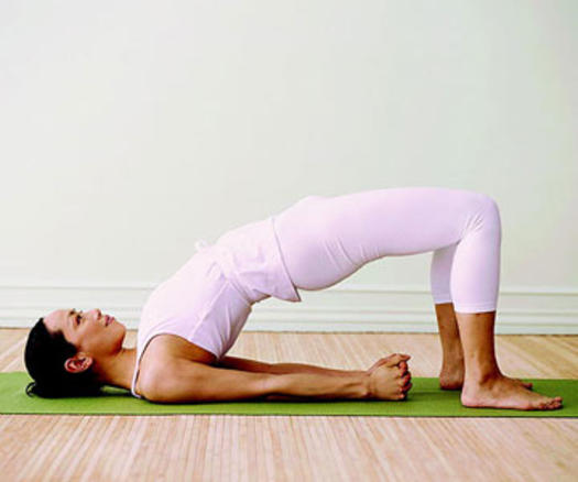 Yoga poses for beginners fitness magazine for Floor yoga stretches