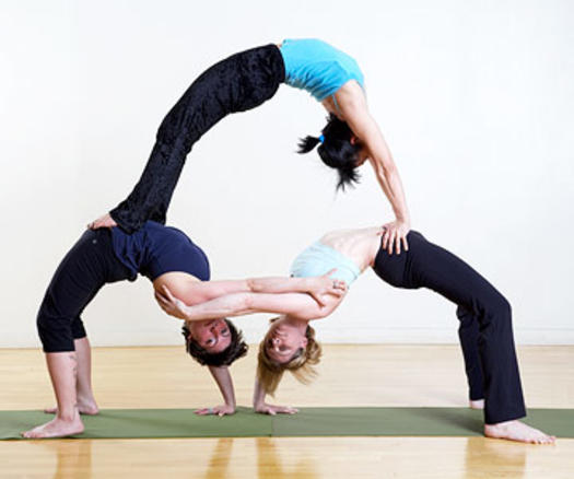 525 x 438 jpeg 25kB, Extreme Yoga Poses With 2 People All about loving ...