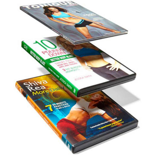 The Best Workout DVDs Of 2012