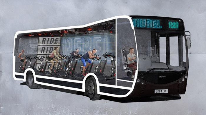 1Rebel Spin Bus