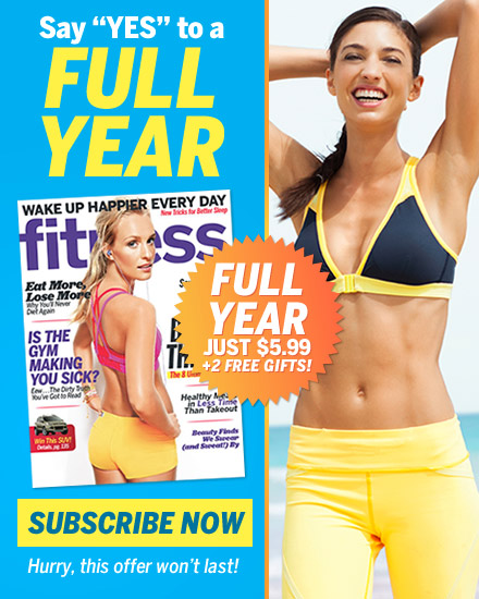 Fitness Magazine: Weight-loss plans, video workouts, abs