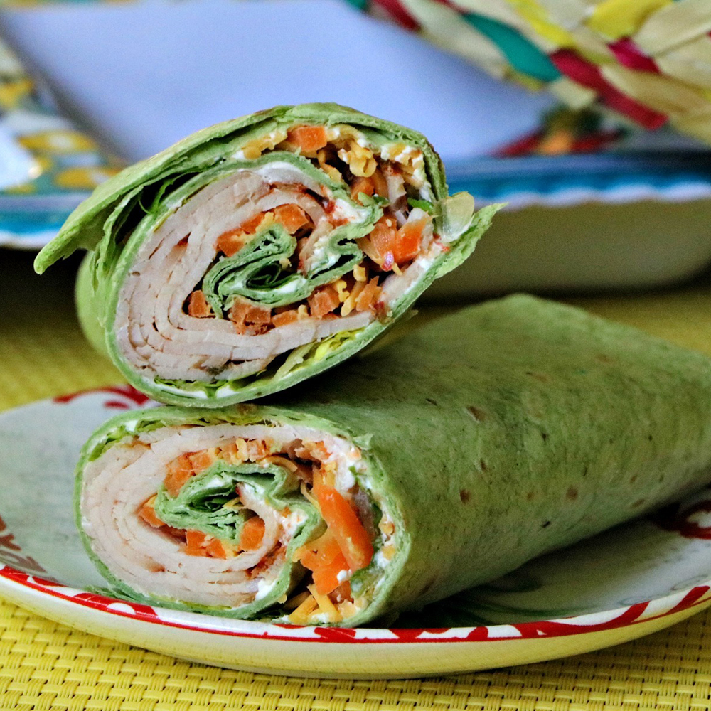 10 Healthy Wrap Recipes Fitness Magazine