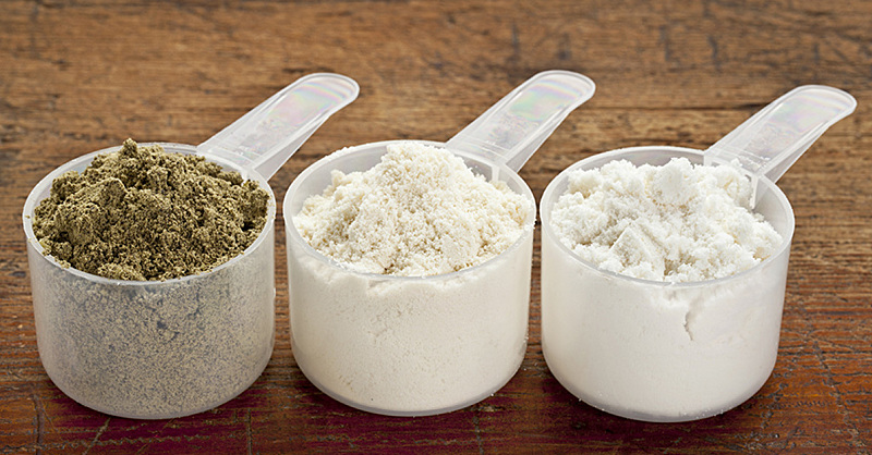 There's a New Protein Powder On the Block