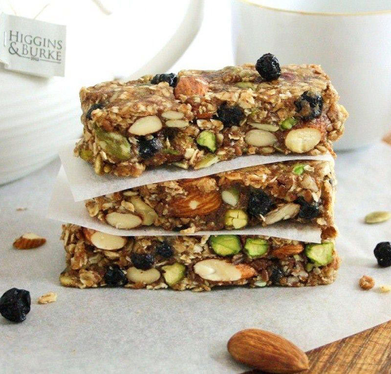 8 healthy homemade granola bars fitness magazine ccuart Image collections
