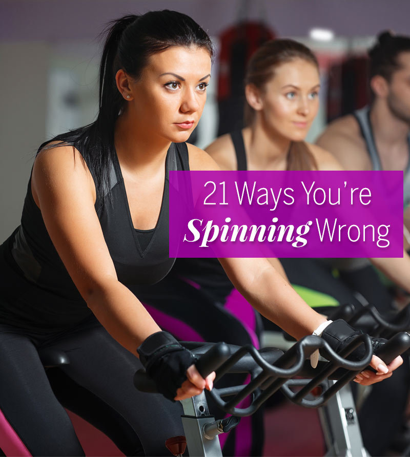 Ways Youre Spinning Wrong Spinning Workout Mistakes Fitness
