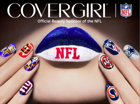 Covergirl Teams Up With The Nfl For Football Fanicures Fitness