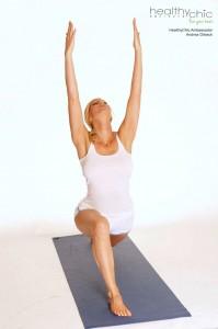 heidi klum's yoga guru shares the best yoga poses for