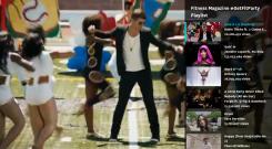 vevo playlist with fitness magazine