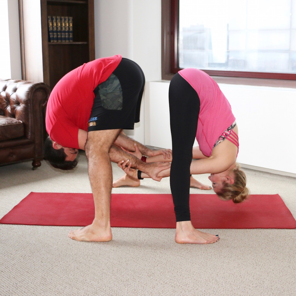 Valentines Day Yoga Poses For Partners