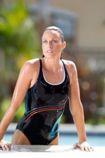 Amanda Beard is in fantastic swimming shape.