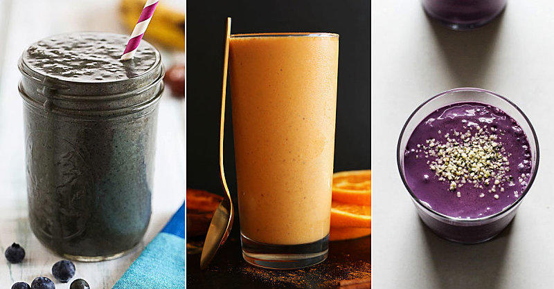 10 Clean Eating Smoothie Recipes to Jump-Start Your Morning