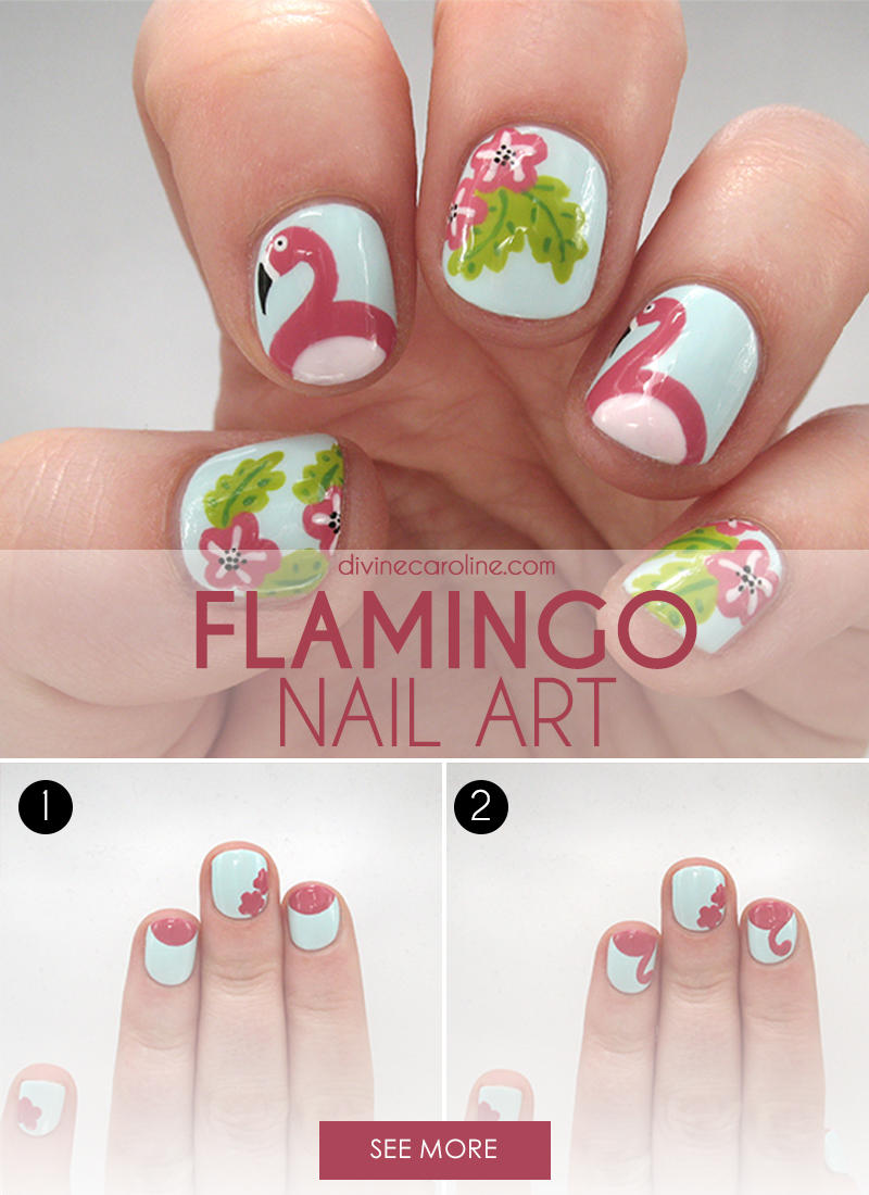 6 Simple Steps To Adorable Spring Nail Art Fitness Magazine