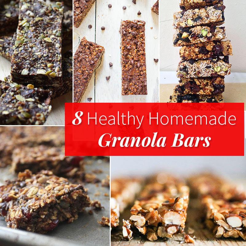 8 Healthy Homemade Granola Bars | Fitness Magazine