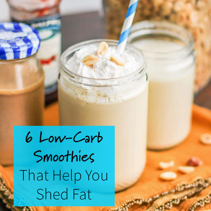 6 Low-Carb Smoothies For Weight Loss