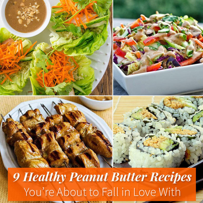 9 Healthy Peanut Butter Recipes You're About to Fall in Love With