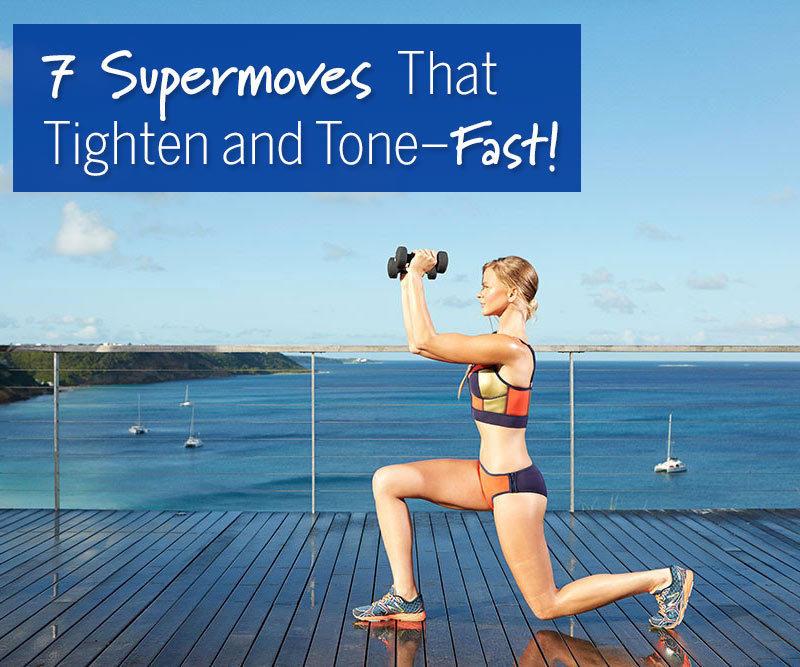 7 Bikini-Body Exercises That Tighten and Tone—Fast!