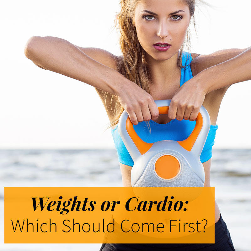 Weights or Cardio: Which Should Come First?