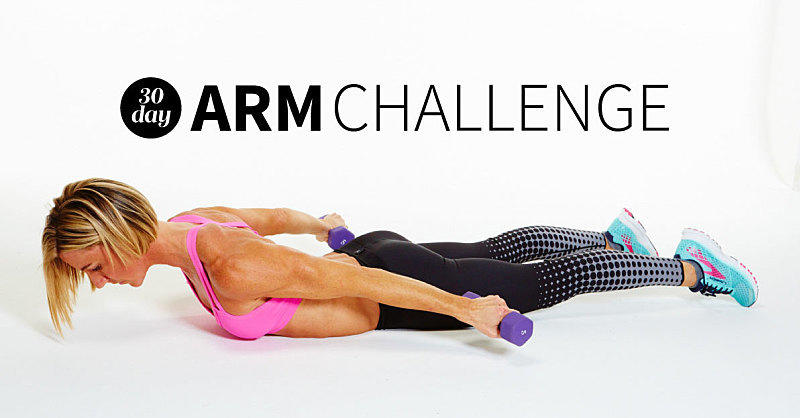 The Super-Sweaty 30-Day Arm Challenge That Will Sculpt Your Hottest Arms Ever