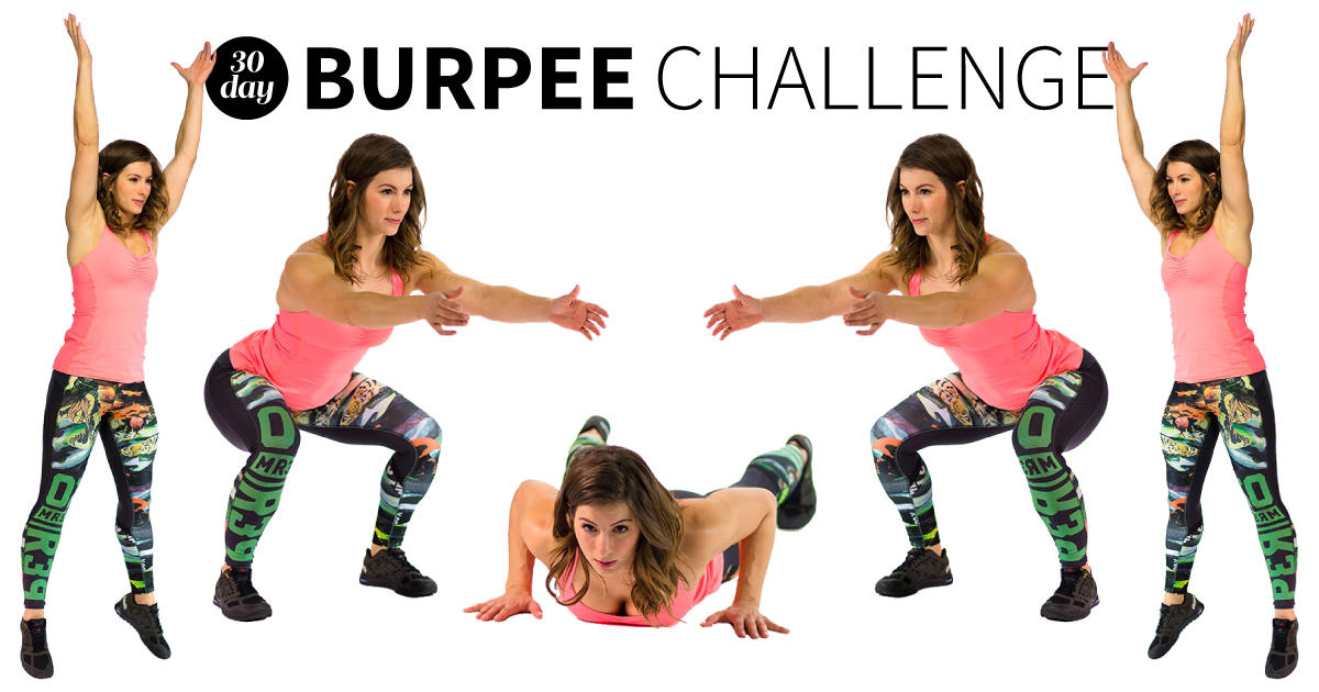 The 30-Day Burpee Challenge That Will Totally Kick Your Butt