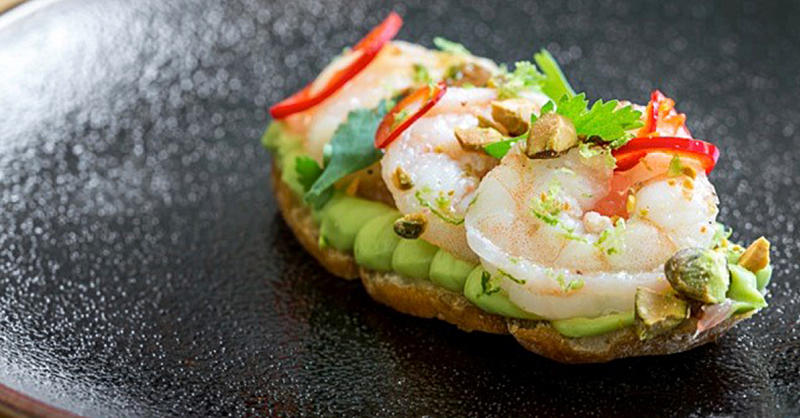 The Shrimp and Avocado Bruschetta You Can Make For Every Summer Party