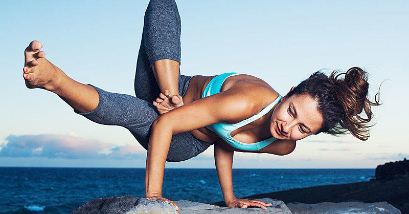5 Yoga Moves to Make Your Arms Look Jacked